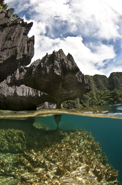 Baracuda Lake :: Palawan Islands . Philippines