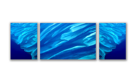 WATER from SKY Triptych