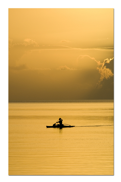 KAYAKER :: French Polynesia